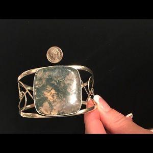 Jewelry - Moss Agate Cuff